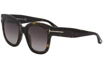 3796831cd4269 Tom Ford Women s Geraldine-02 TF568 TF 568 Fashion Oval Sunglasses