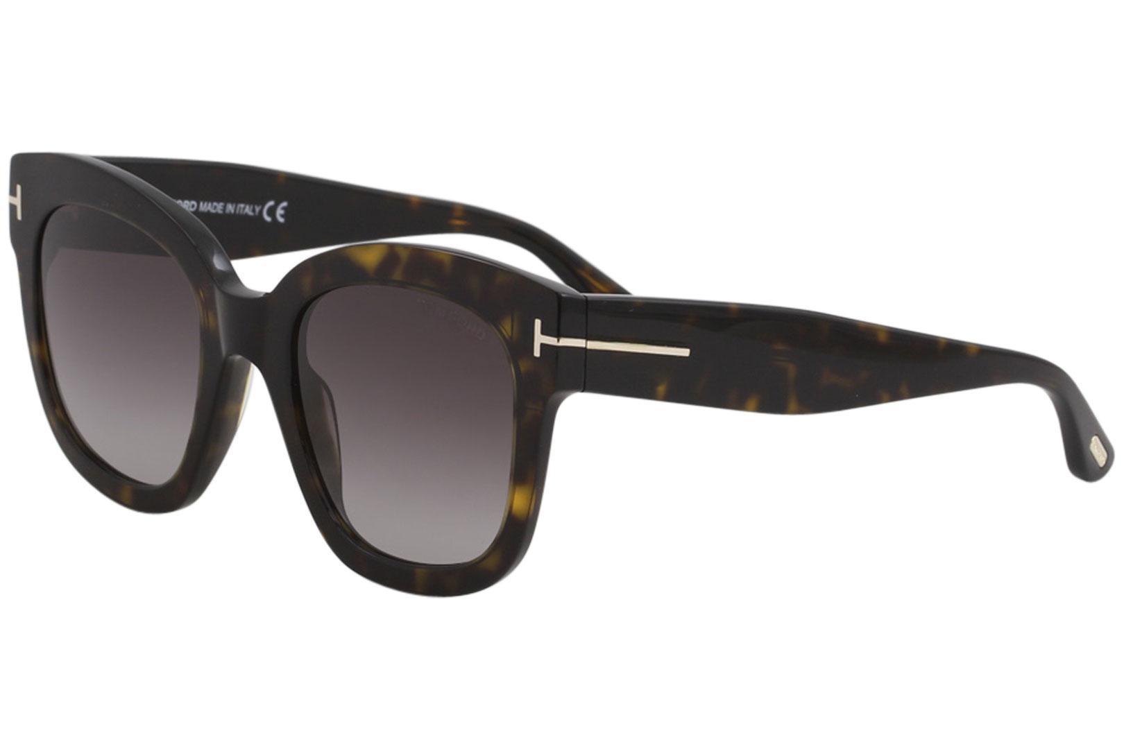 26c39d48976db Tom Ford Women s Beatrix-02 TF613 TF 613 Fashion Square Sunglasses