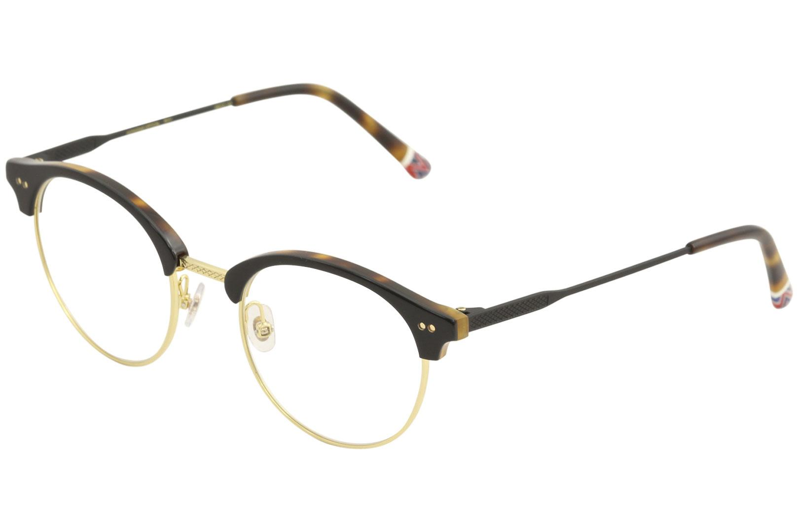 Image of Etnia Barcelona Men's Eyeglasses Vintage Collection Hongdae Optical Frame - Black - Lens 49 Bridge 21 Temple 145mm