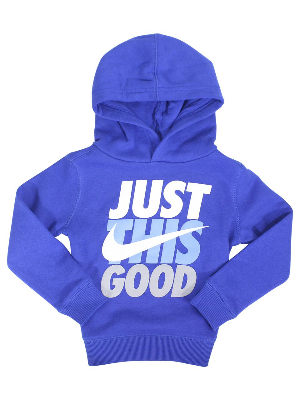 Nike Toddler Boy's Just This Good Pullover Hooded Sweatshirt