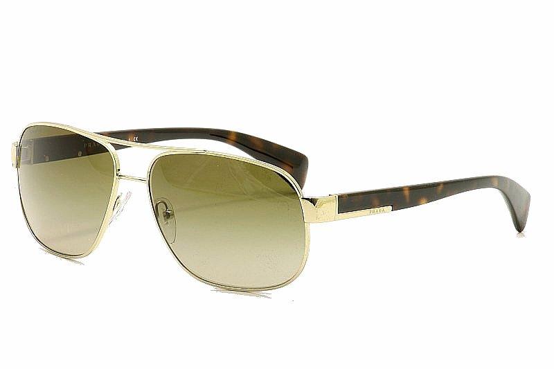 Prada SPR52P SPR 52P Square Aviator Sunglasses 61M