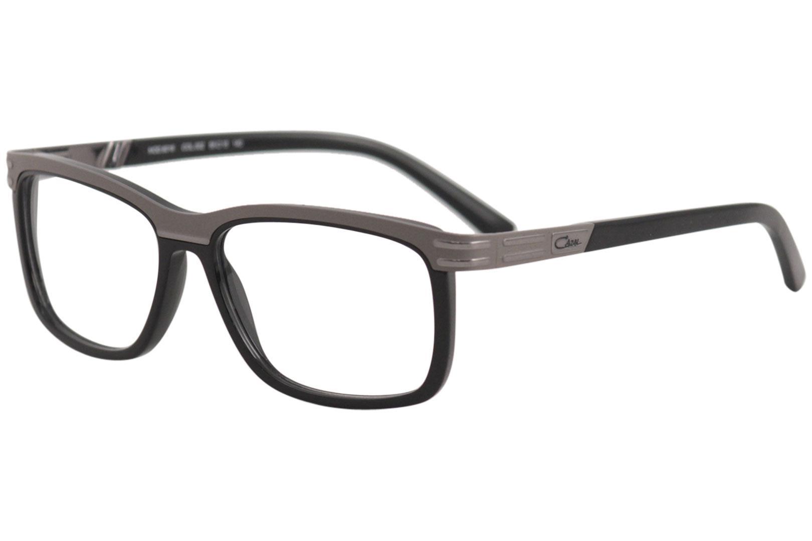 db408cf2b821 Cazal Men's Eyeglasses 6016 002 Grey/Black Full Rim Optical Frame ...