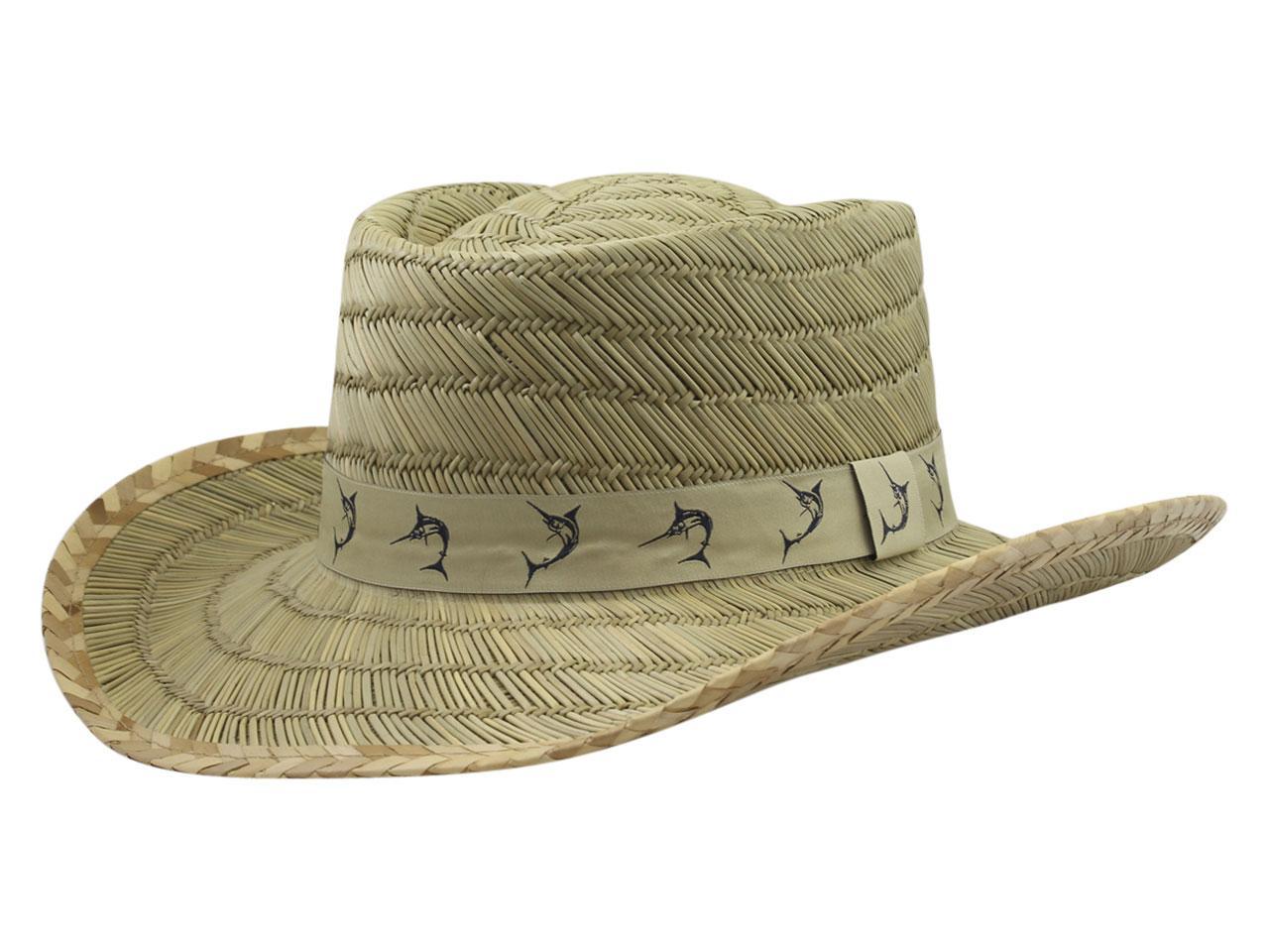 85d235cb631 Dorfman Pacific Men's Marlin Tape Rush Gambler Hat