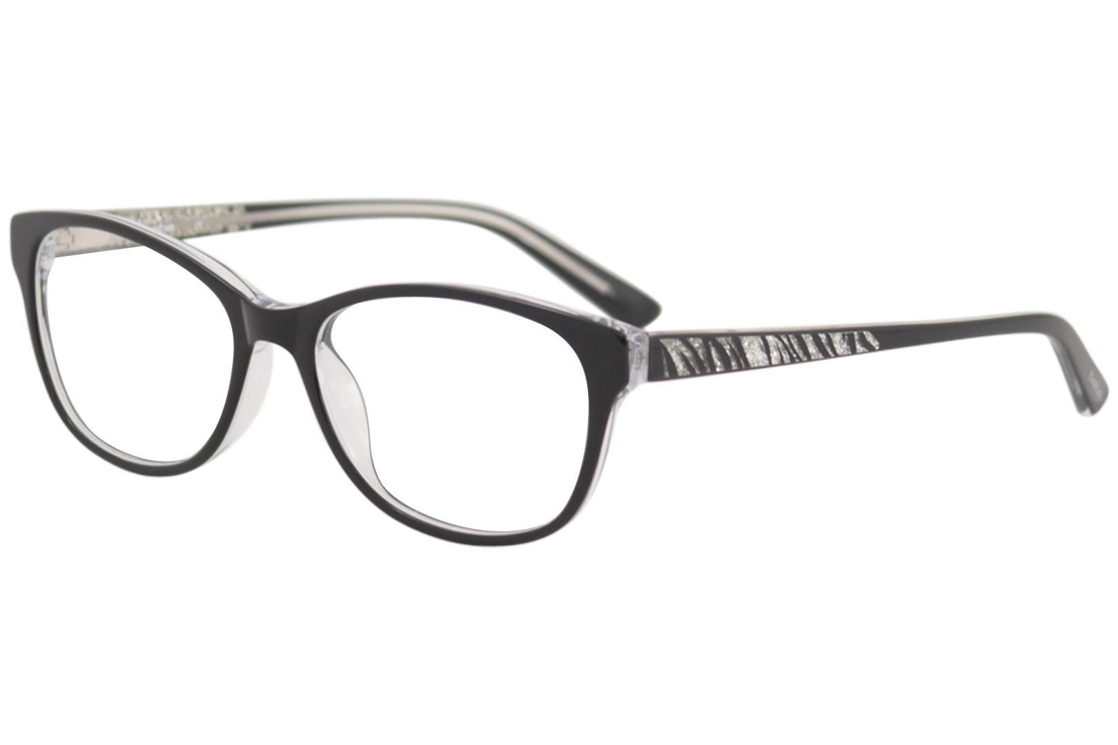 6377d4a032 Bebe Women s Sparkle Eyeglasses BB5123 BB 5123 Full Rim Optical Frame
