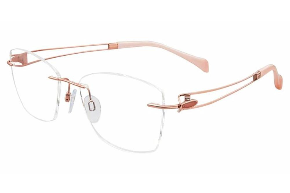 e86ddb0d57d9 Charmant Line Art Women's Eyeglasses XL2117 XL/2117 Rimless Optical Frame