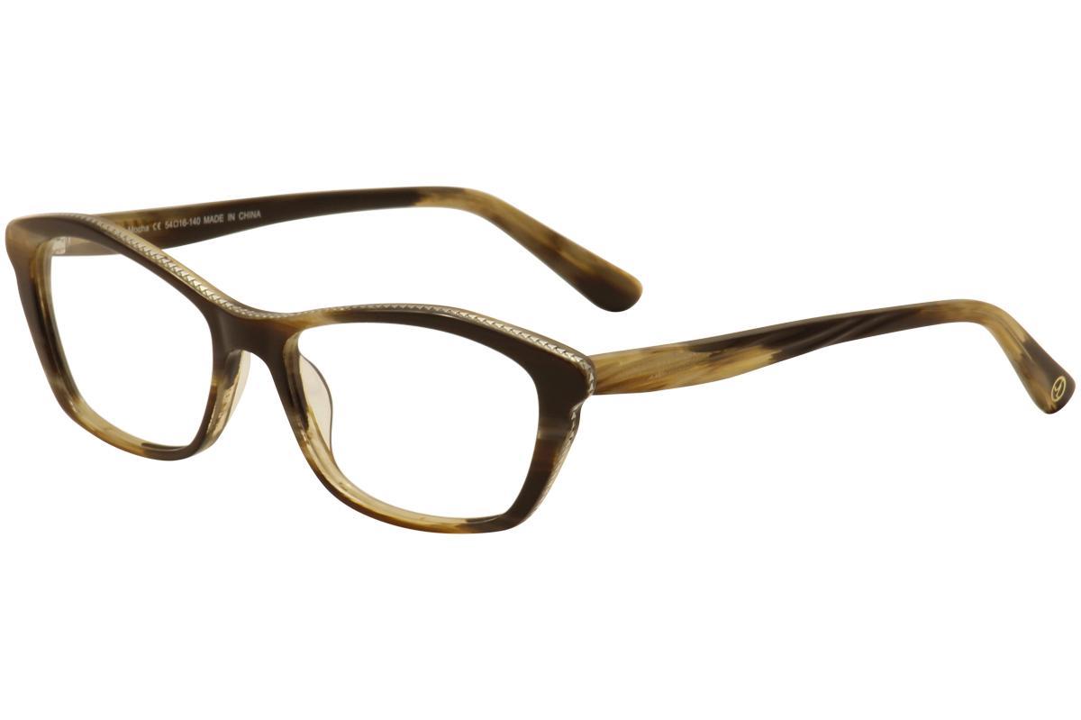 Image of JL By Judith Leiber Women's Eyeglasses JL3017 JL/3017 Full Rim Optical Frame - none - Lens 54 Bridge 16 Temple 140mm