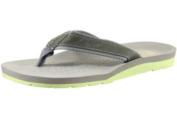 Image of Island Surf Men's Aloha 31001 Fashion Flip Flops Sandals Classic Shoes - Grey - 8