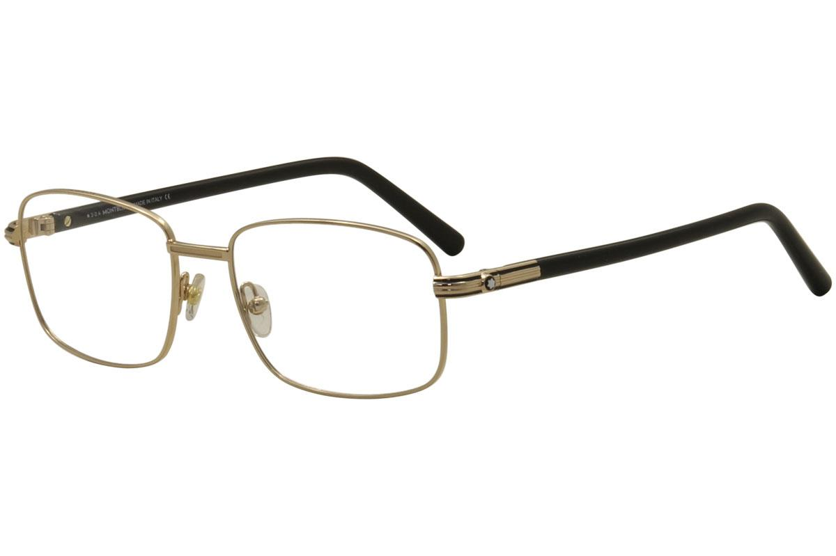 ca152c01140 Mont Blanc Men's Eyeglasses MB530 MB/530 Full Rim Optical Frame