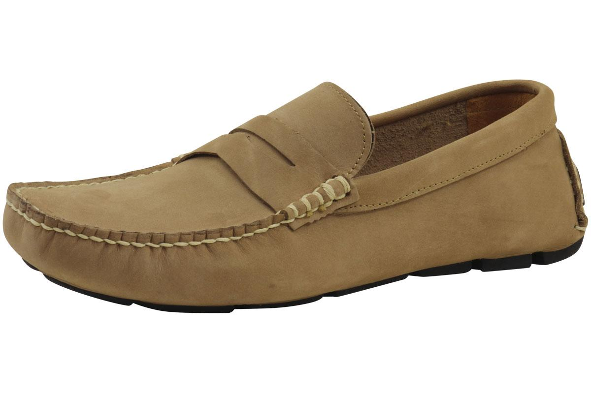 Island Surf Men's Penny Fashion Shoes Parchment PAR Loafer ST#11204PAR UPC: