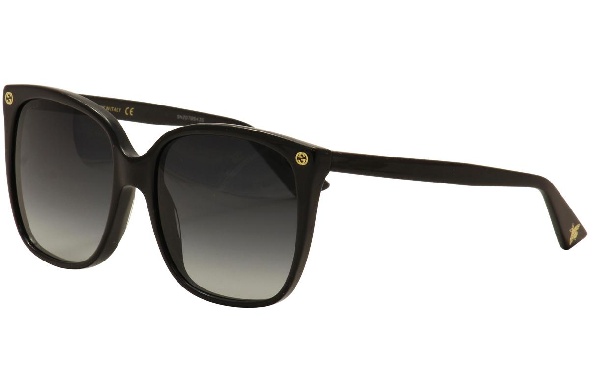 Gucci Women's GG0022S GG/0022/S Fashion Sunglasses UPC: