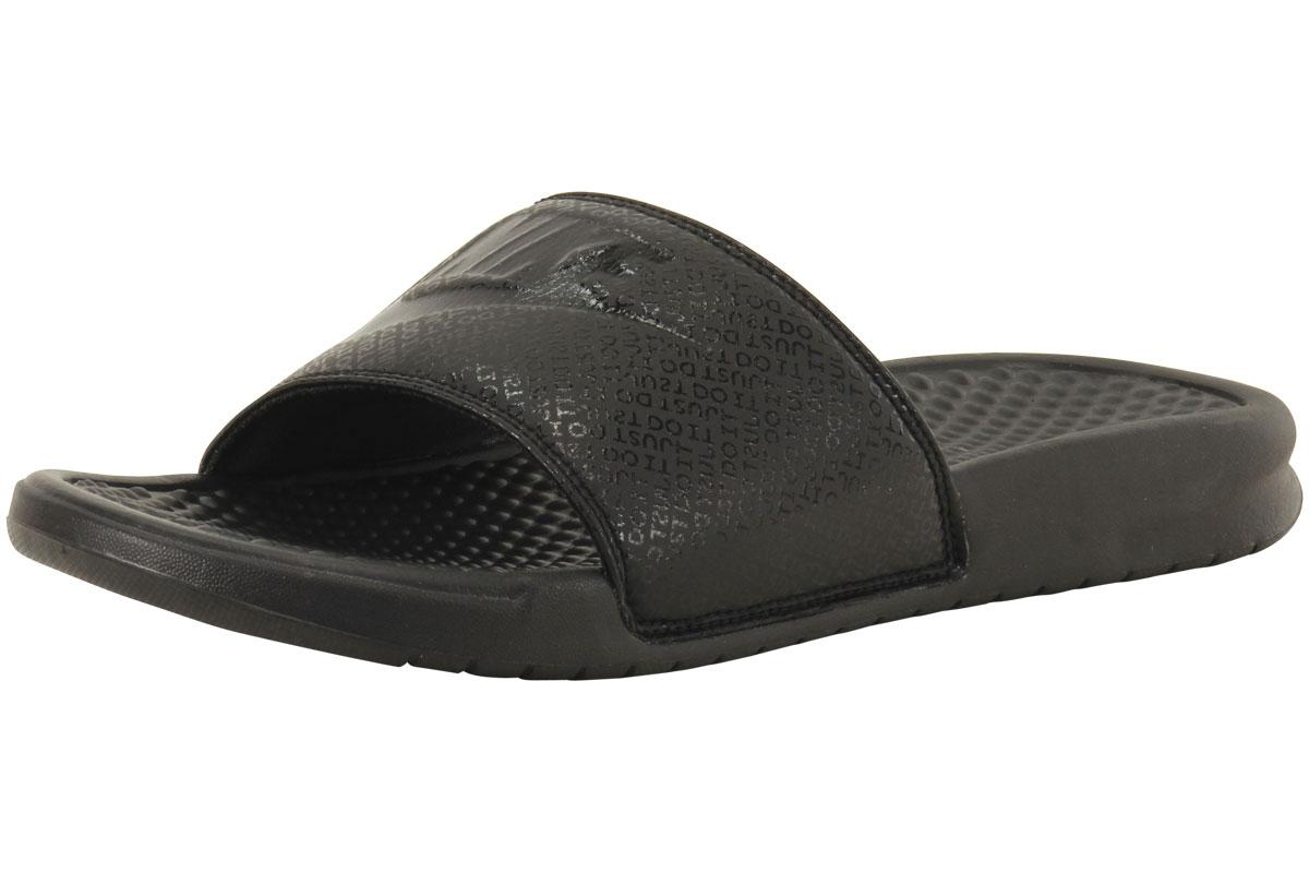Nike Men's Benassi JDI Logo Print Slides Sandals