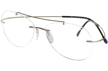 2026f3bc9828 Silhouette Eyeglasses Titan Minimal Art Pulse Chassis 5490 Rimless ...