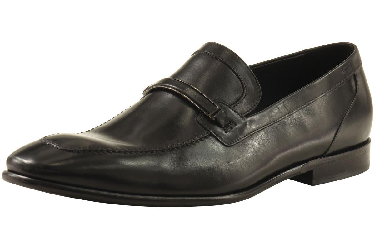 Hugo Boss Men's Metrof 50261887 Fashion Loafer Leather Shoes  UPC: