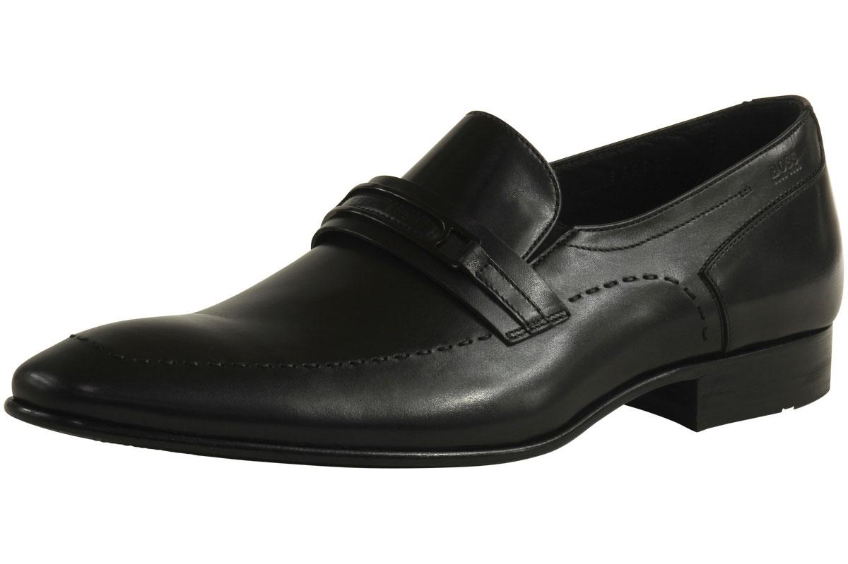 Hugo Boss Men's Cellios 50260470 Fashion Loafer Leather Shoes  UPC: