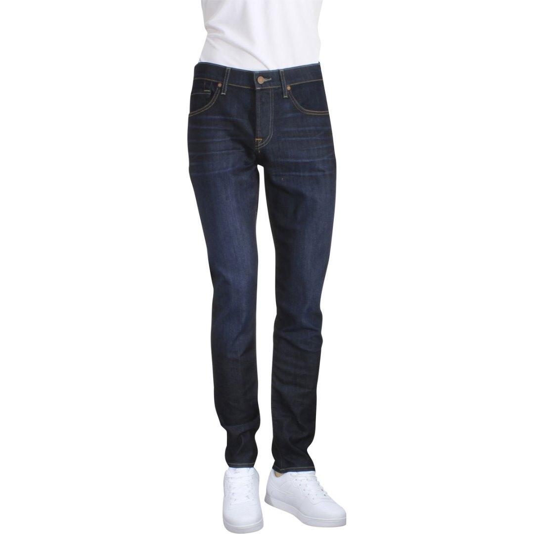 Image of 7 For All Mankind Men's The Paxtyn Airweft Denim Skinny Jeans - Blue - 34