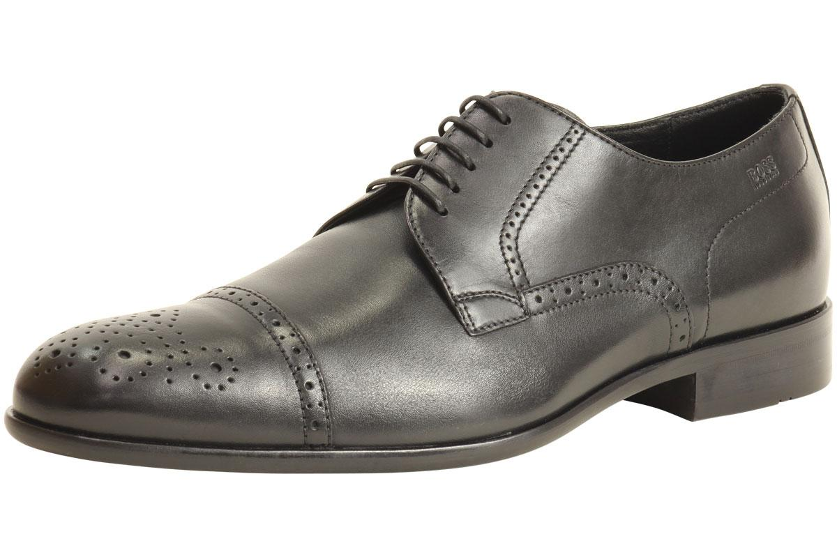 Hugo Boss Men's Bronnio 50260455 Fashion Oxford Leather Shoes  UPC: