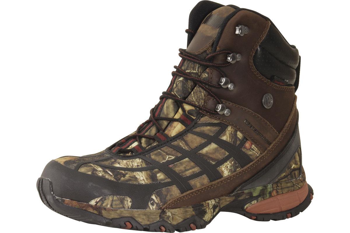 Image of Bushnell Men's Hunting Boots Stalk Hi Brown BFM111 Shoes - Brown - 9.5 US