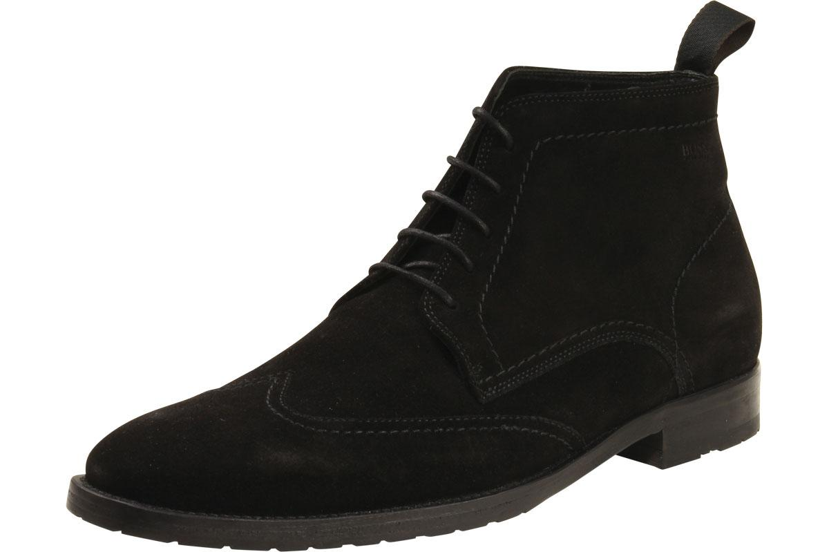 Hugo Boss Men's Fashion Ankle Boots Clelior Suede Shoes 50228313  UPC: