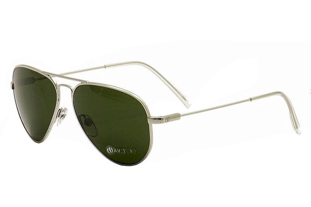 Image of Electric AV.1 Fashion Pilot Sunglasses 52mm - Silver