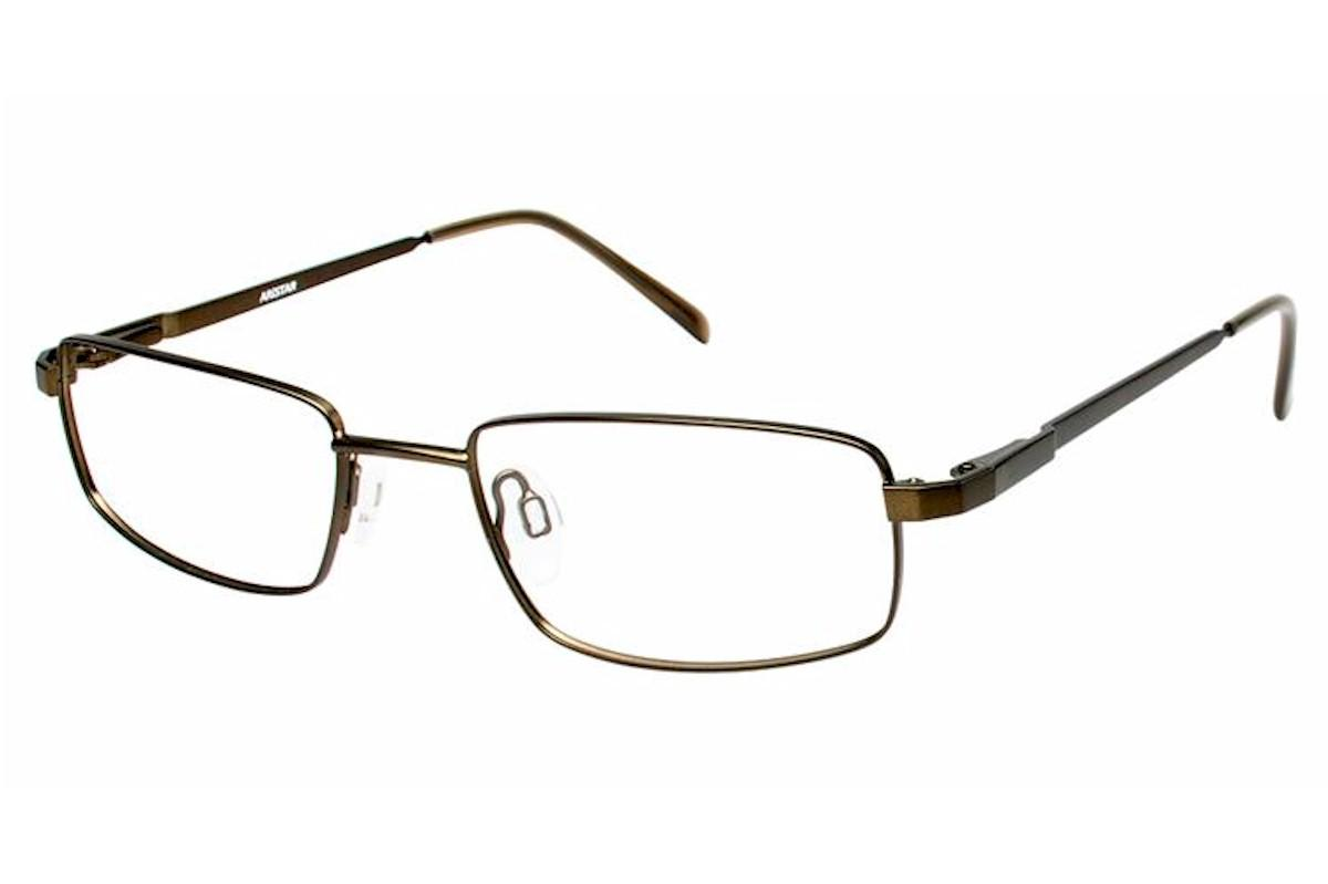 Image of Aristar By Charmant Men's Eyeglasses AR16204 AR/16204 Full Rim Optical Frame - Green - Lens 55 Bridge 18 Temple 145mm