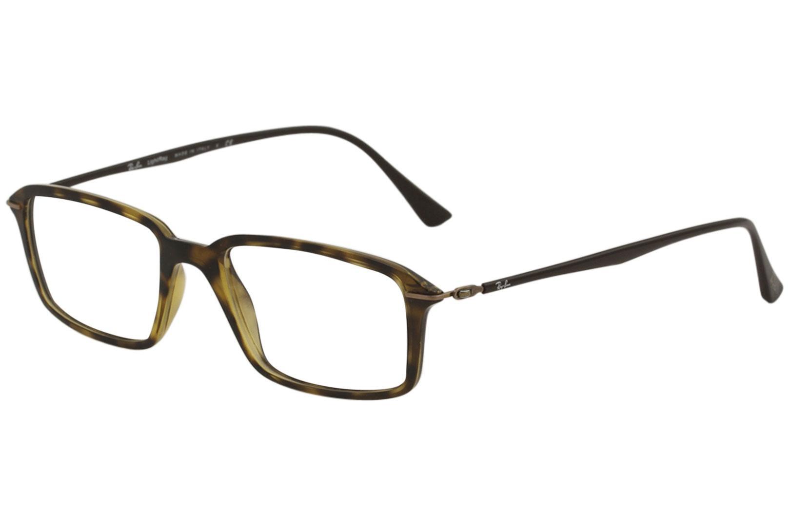 ab5bb7f59cce Ray Ban Men s LightRay Eyeglasses RX7019 RX 7019 RayBan Full Rim Optical  Frame by Ray Ban. 12345