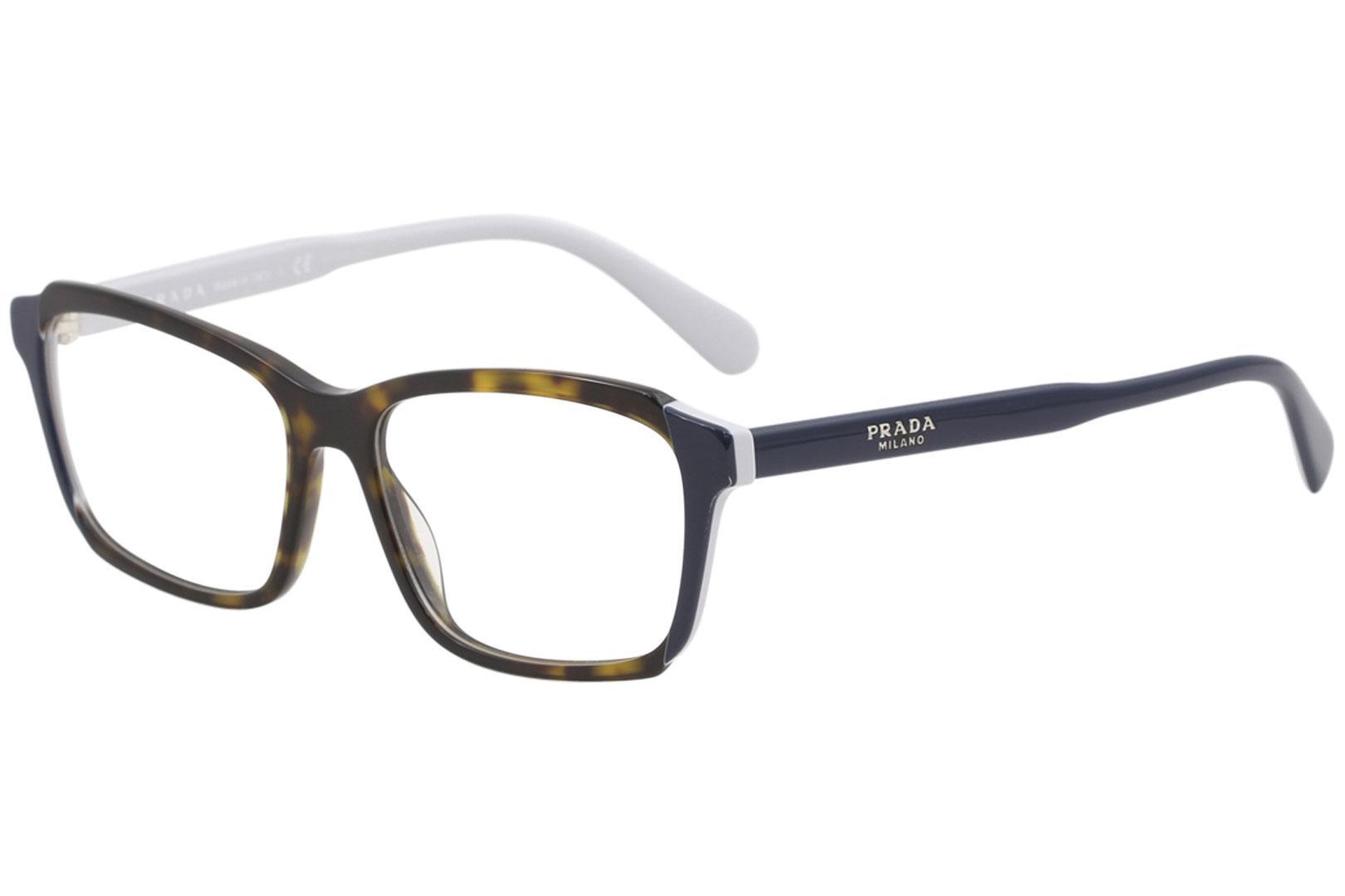 Prada Women\'s Eyeglasses VPR01V VPR/01/V Full Rim Optical Frame