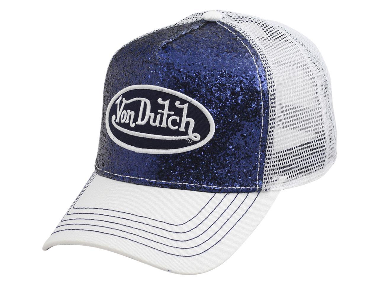 Von Dutch Women s Sparkle Snapback Trucker Cap Hat by Von Dutch fee9c36235