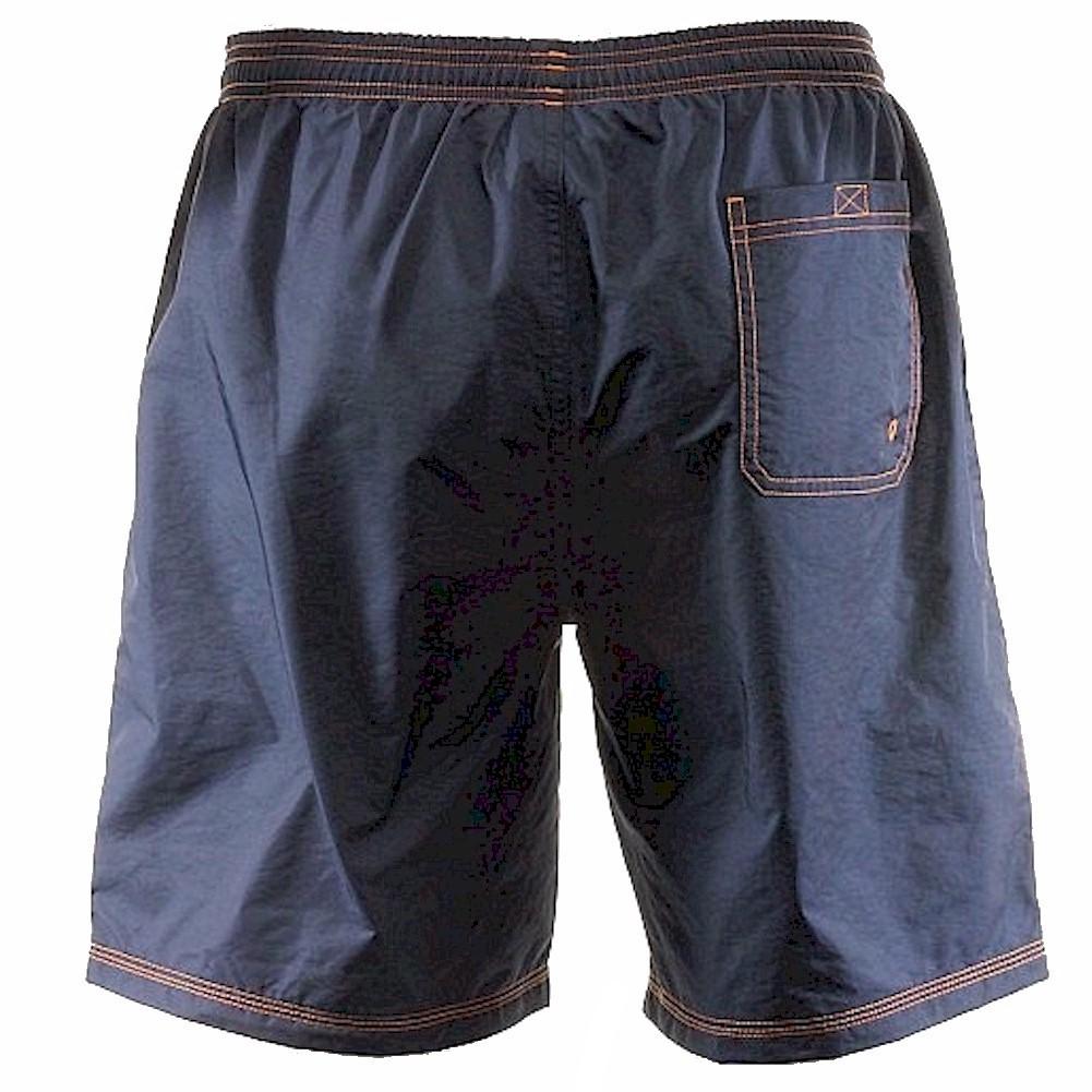 Hugo Boss Men/'s Killifish Navy Trunk Shorts Swimwear