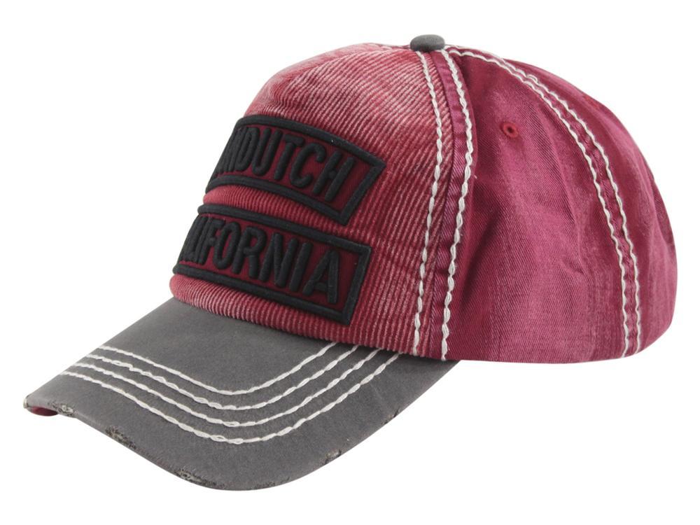 2c08c1c8a54 Von Dutch Men s Corduroy California Logo Strapback Baseball Cap Hat
