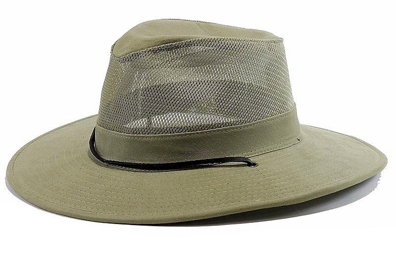 070b5d896df Dorfman Pacific Men s Washed Twill Safari Hat