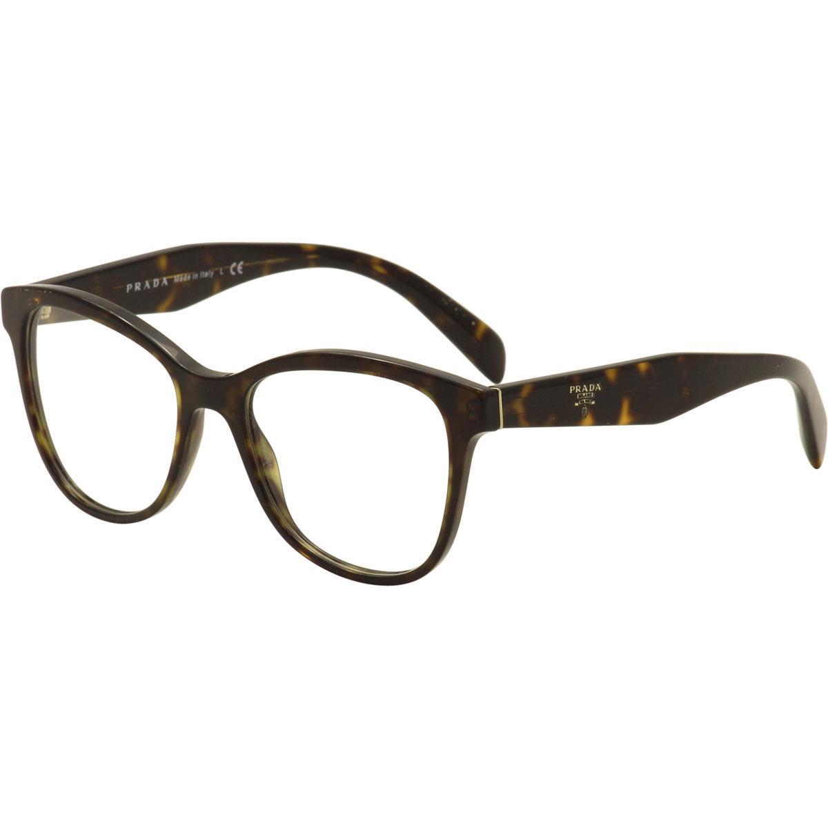 Prada Women\'s Eyeglasses VPR12T VPR/12T Full Rim Optical Frame
