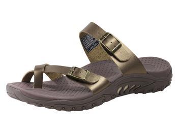 4707221d80fc Skechers Women s Reggae Wishlist Strappy Flip Flops Sandals Shoes