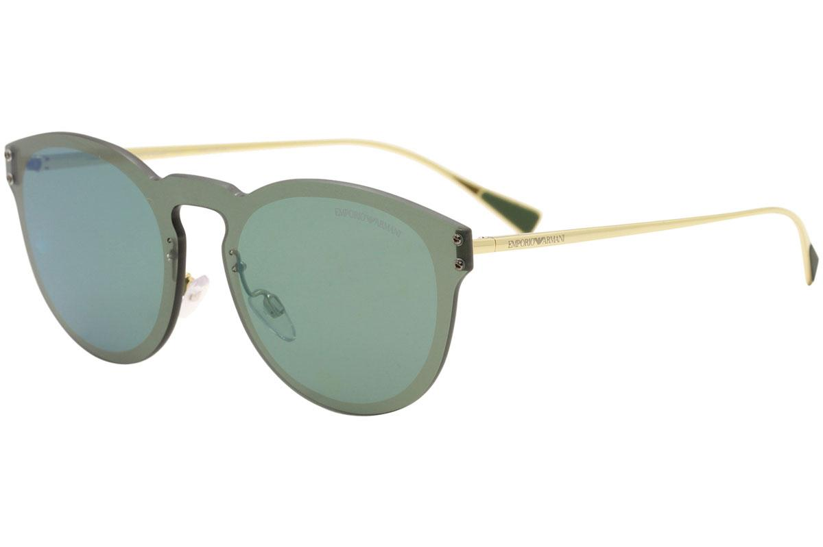 Image of Emporio Armani Men's EA2049 EA/2049 Shield Sunglasses - Grey - Lens 43 Bridge 14 Temple 145mm