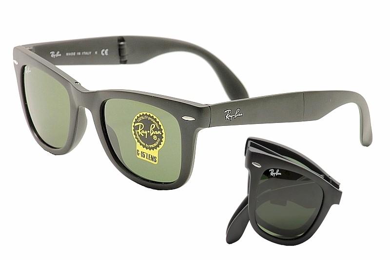 10c5656c5e6 Ray Ban Men s Folding Wayfarer RB4105 RB 4105 RayBan Sunglasses