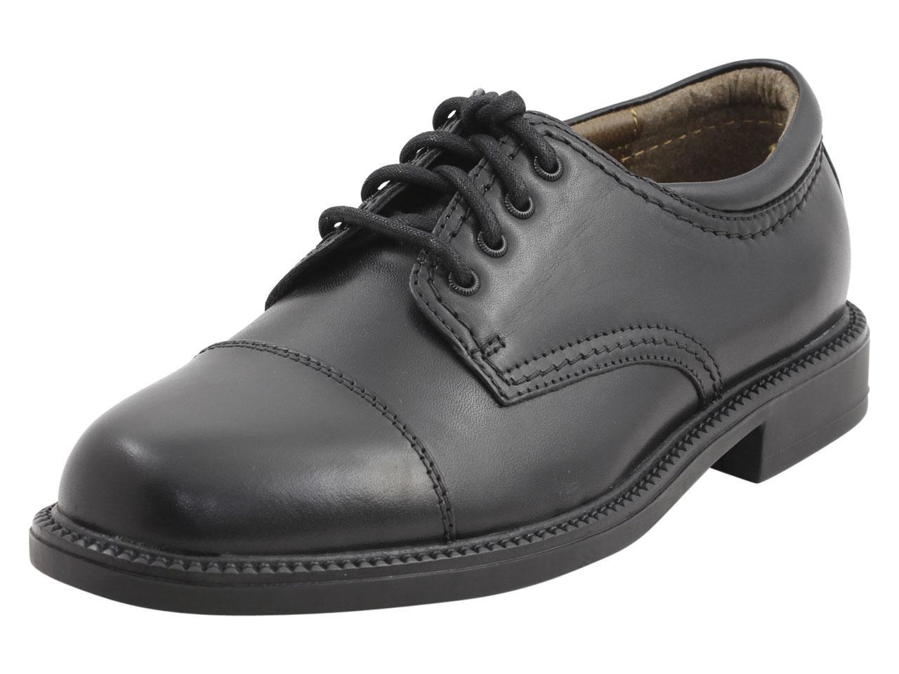 Image of Dockers Men's Gordon Cap Toe Oxfords Shoes - Black - 10.5 D(M) US