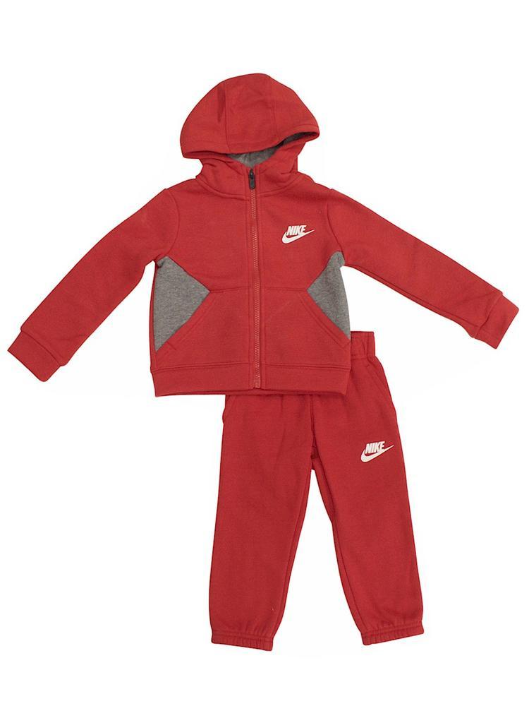 05c9fce27 Nike Infant/Toddler Boy's 2-Piece Swoosh Fleece Hat & Mittens Set