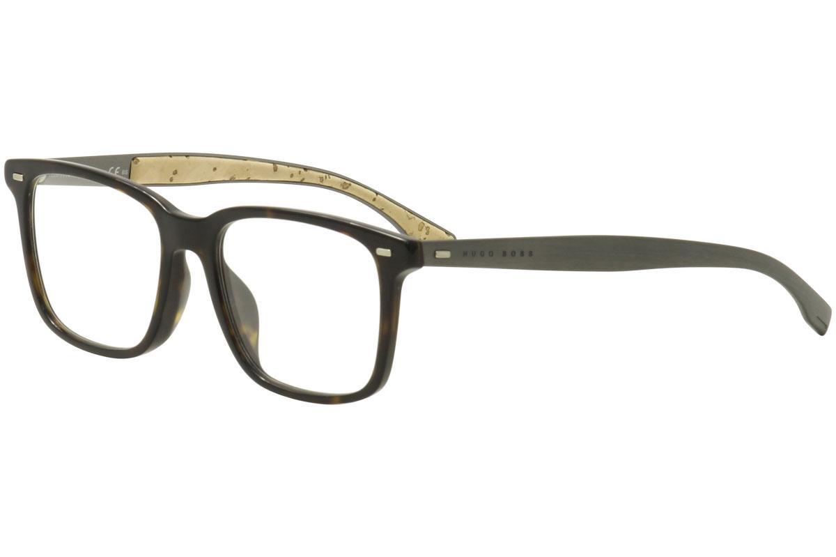 571509ccda4 Hugo Boss Men s Eyeglasses 0906F 0906 F Full Rim Optical Frame