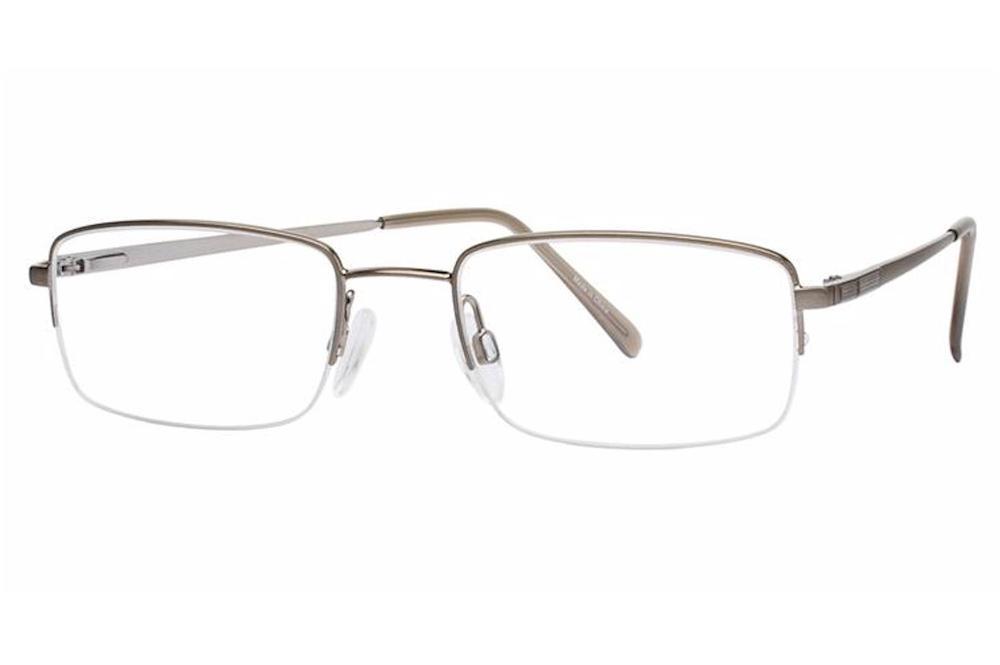 b6dc140d282 Aristar By Charmant Men s Eyeglasses AR6768 AR 6768 Half Rim Optical ...
