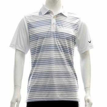 Callaway Men's Road Map Striped Golf Polo Short Sleeve Shirt  UPC: