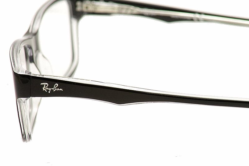 42a00e84888 Ray-Ban Eyeglasses RB5245 5245 2034 Black RayBan Optical Frame by Ray Ban