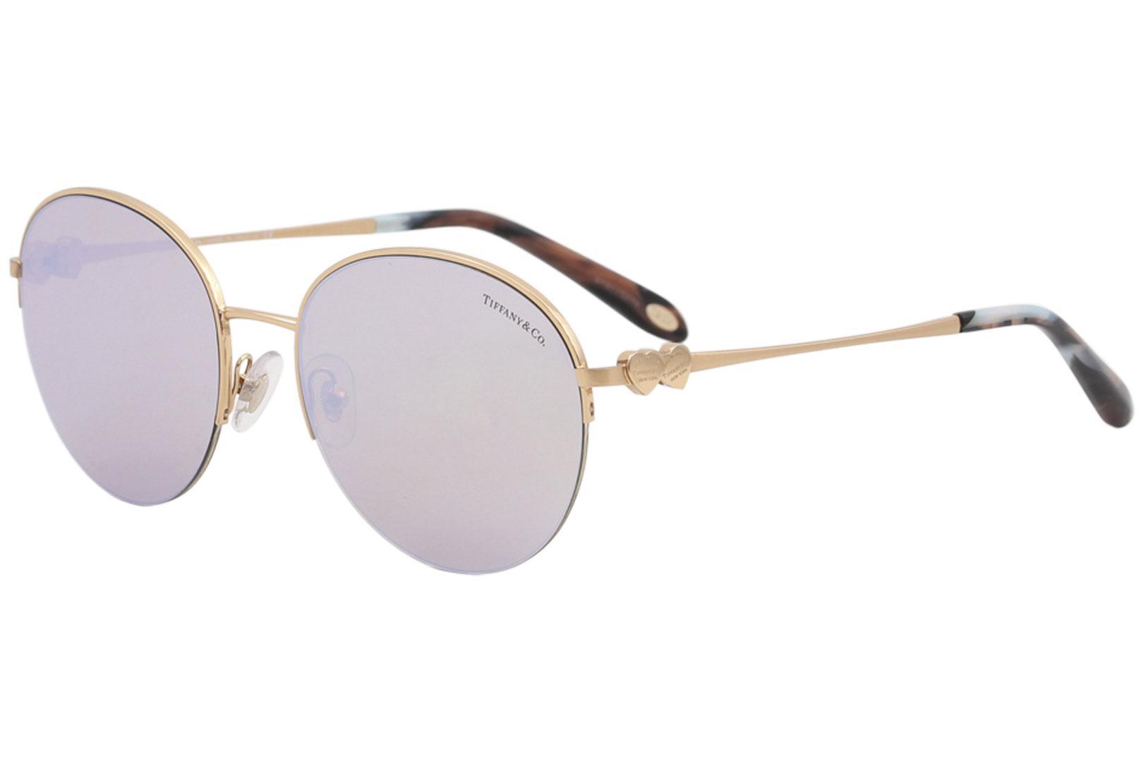 2d3d771409 Tiffany   Co Women s TF3053 TF 3053 Fashion Round Sunglasses