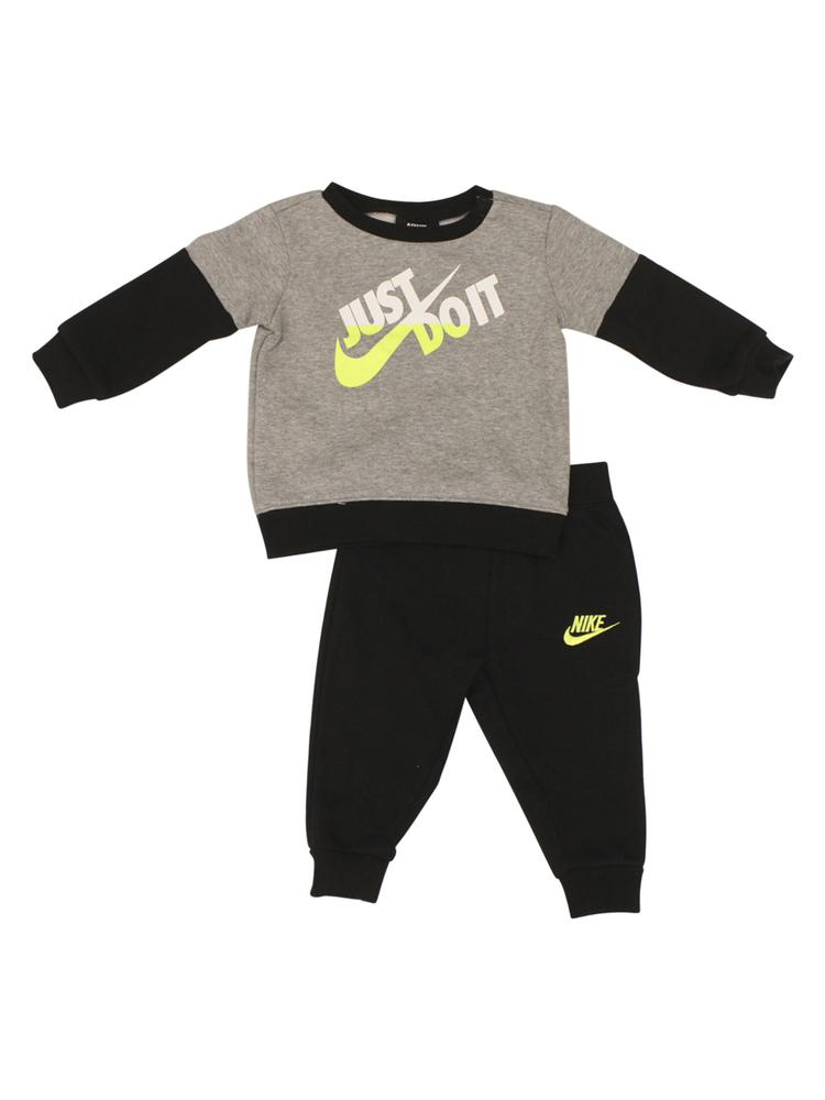 cb7ce8d962eb Nike Infant Toddler Boy s 2-Piece Split Just Do It Sweatshirt ...