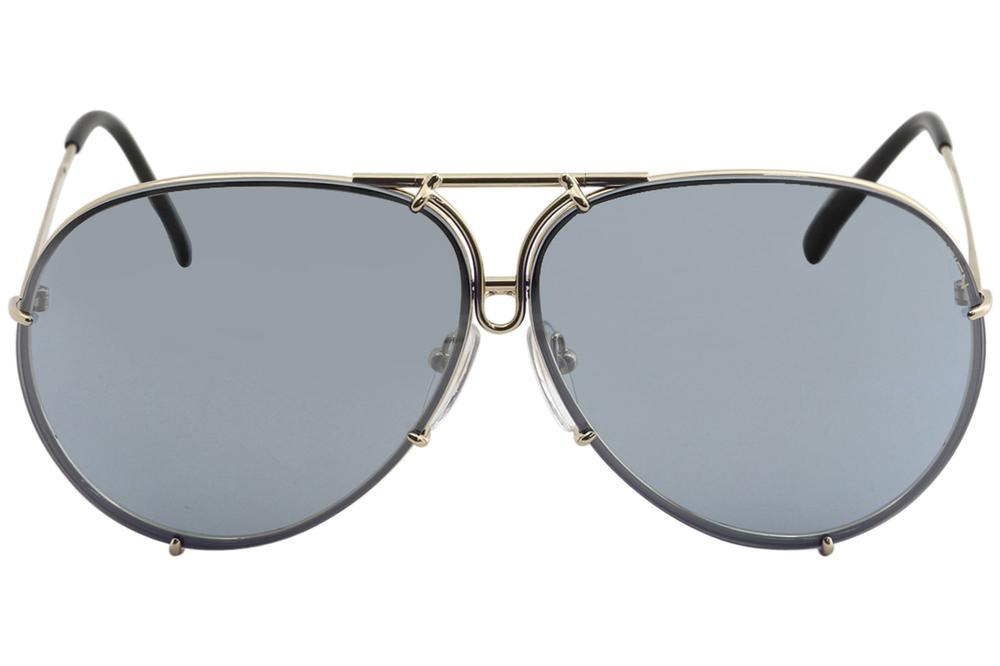 148d3f43c Porsche Design P8478 P'8478 Round Sunglasses W/Extra Lenses by Porsche  Design