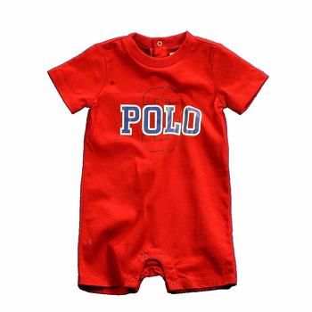 Polo By Ralph Lauren Infant Boy's One-Z Jersey Polo Shortall Layette  UPC: