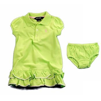 Polo By Ralph Lauren Infant Girl's Cupcake Polo Dress Layette  UPC: