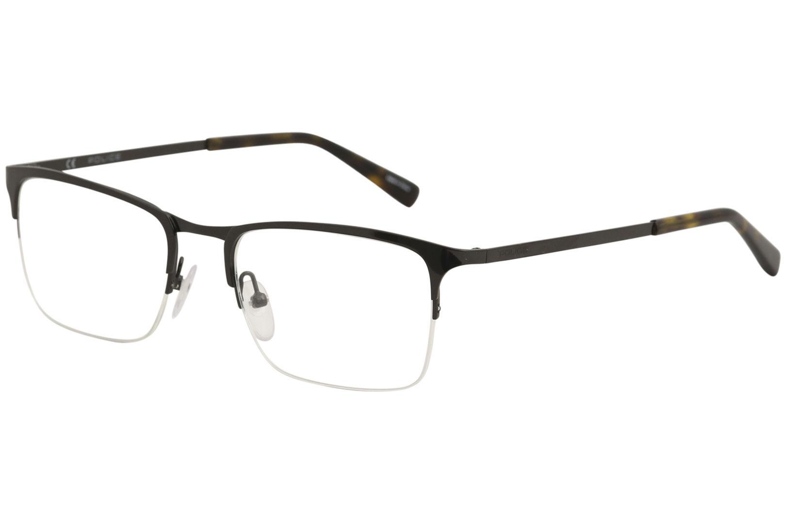 4dd2849cef77 Police Men's Eyeglasses Invisible 1 VPL138 VPL/138 Half Rim Optical Frame  by Police. 12345