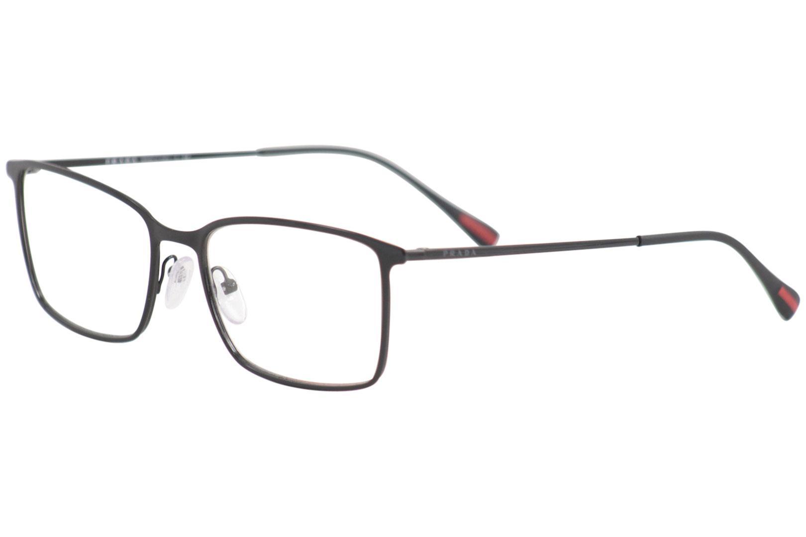 6f063e0e13e Prada Linea Rossa Eyeglasses VPS51L VPS 51 L 1AB 1O1 Black Optical ...