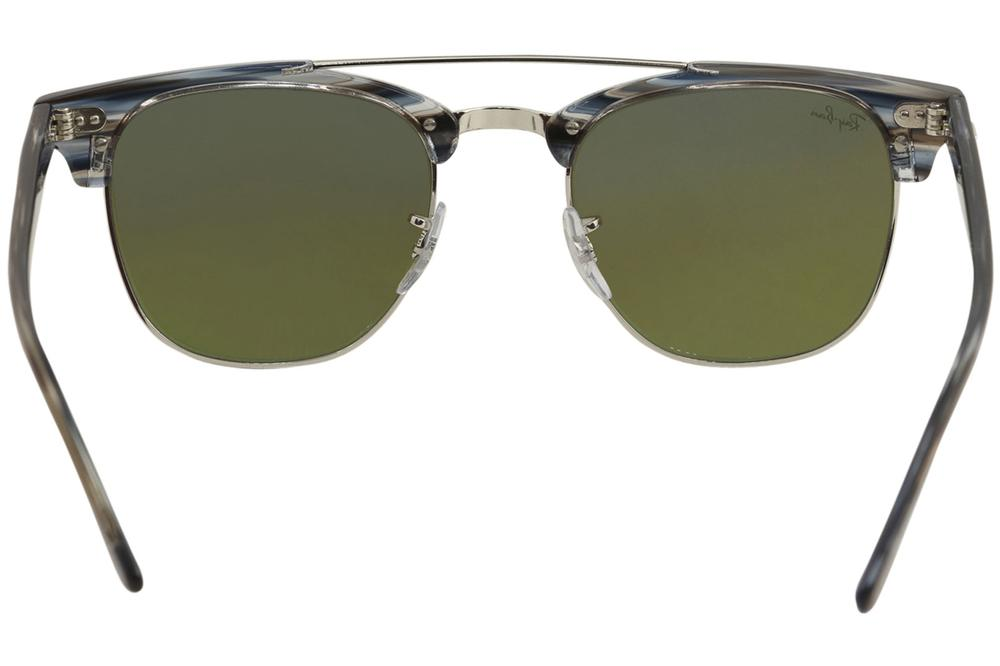62c52d39999 Ray Ban Doublebridge Clubmaster RB3816 RB 3816 RayBan Fashion Square  Sunglasses by Ray Ban. Touch to zoom
