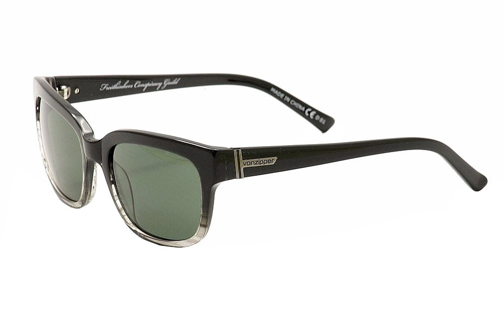 Image of VonZipper FCG Commonwealth Von Zipper Fashion Sunglasses - Black - One Size Fits Most