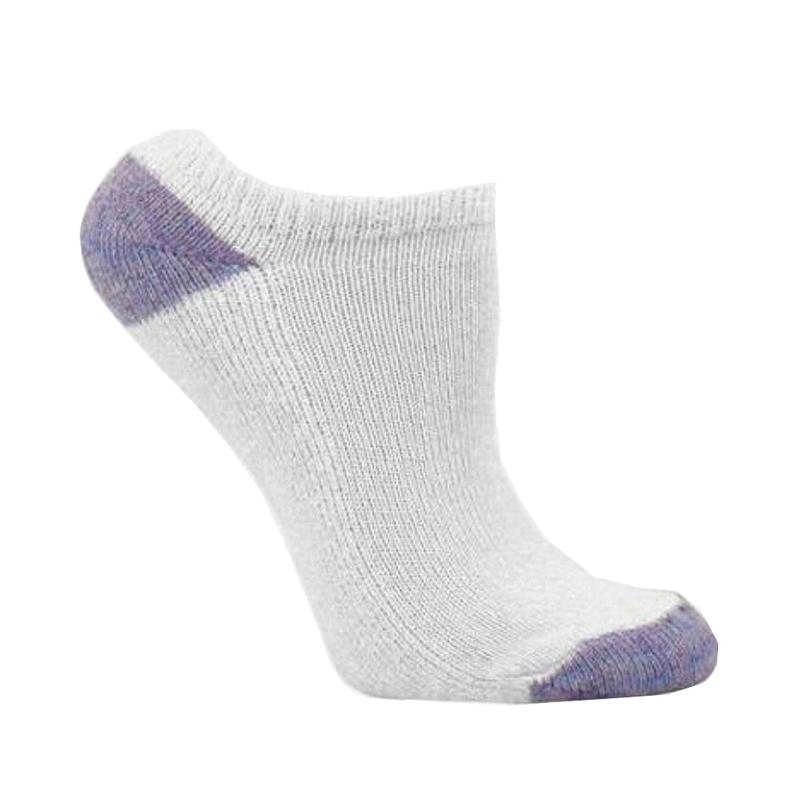 Image of Fruit Of The Loom Toddler/Little/Big Girl's 10 Pair Low Cut Ultra Soft Socks - White - Small   Fits Shoe 6 10.5 Toddler